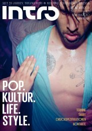 POP. KULTUR. LIFE. STYLE. - Intro Verlag