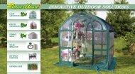 INNOVATIVE OUTDOOR SOlUTIONS - FlowerHouse