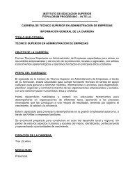 instituto de educacion superior populorum progressio – in.te.la ...