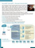 SecuraNET SentinelXS - Features - Bulwark Systems - Page 2