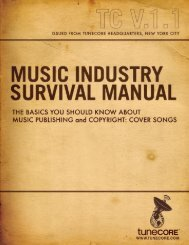 Music Publishing and Copyright: Cover Songs - TuneCore