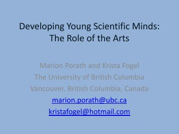 Developing Young Scientific Minds - Learning Development Institute