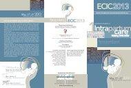 Scientific Programme - MCA Events