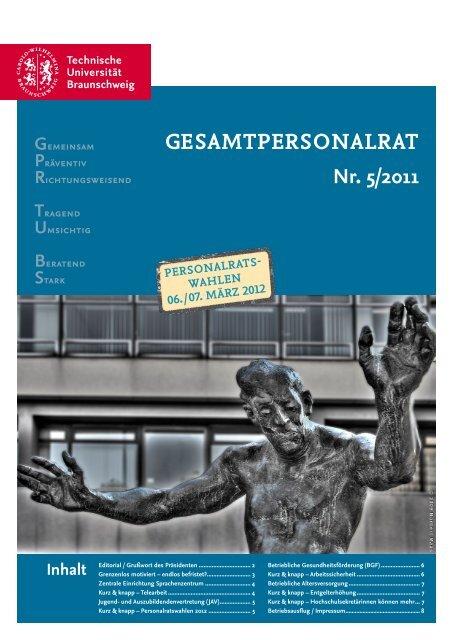 GPR Zeitung Nr. 5 - Technische Universität Braunschweig