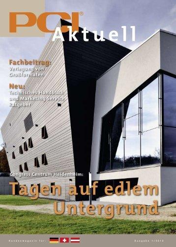 Aktuell - PCI-Augsburg GmbH