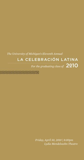 2010 Program - Office of Academic Multicultural Initiatives ...