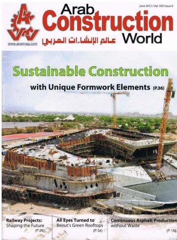 Arab Construction World 6-2012 Lahnau Akustik