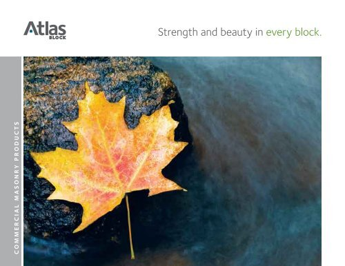 Commercial Masonry Catalogue - Atlas Block