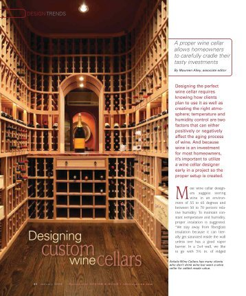custom cellars - Home Design Software