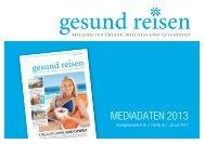 gesund reisen (Mediadaten) - EuBuCo Verlag