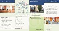 Gesundheitszentrum Bad Salzuflen Flyer ... - Klinikum Lippe