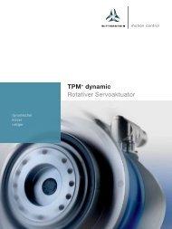 TPM+ dynamic Rotativer Servoaktuator - WITTENSTEIN alpha