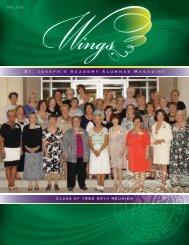 Fall 2012 (pdf, 2.59MB - St. Joseph's Academy
