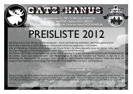 Gatz-Preisliste 2012