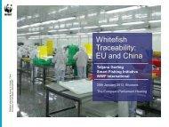 Whitefish Traceability: EU and China - European Parliament