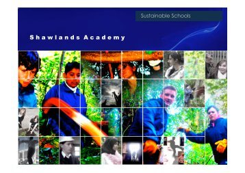 Sustainable Schools for Tuesday 18th nov.ppt ... - CIFAL Scotland