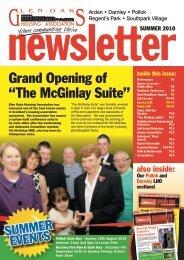 Newsletter Summer 2010 - Home