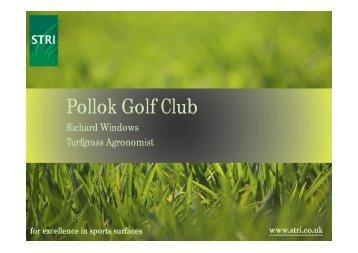 May 2012 - Pollok Golf Club