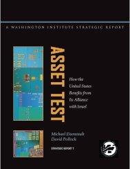 Michael Eisenstadt David Pollock How the United States Benefits ...