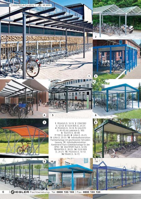 Ziegler Katalog Seiten 8 bis 9