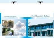 Bericht aus dem Rathaus - Gemeinde Gräfelfing