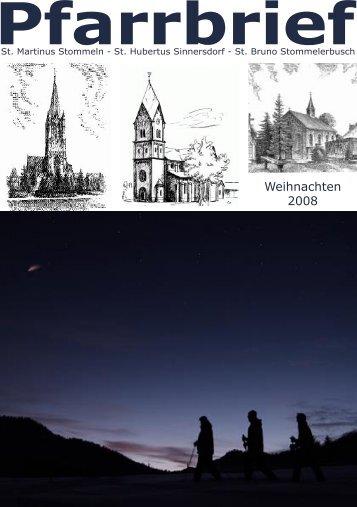 Pfarrbrief - St. Martinus Stommeln / Startseite