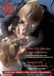 48th FW Warrior helps islanders Speech and ... - RAF Lakenheath