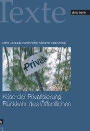 Krise der Privatisierung Rückkehr des Öffentlichen - Rosa ...