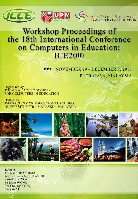 Icce2010 Workshop Proceedings