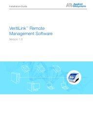 VeritiLink™ Remote Management Software - Invitrogen