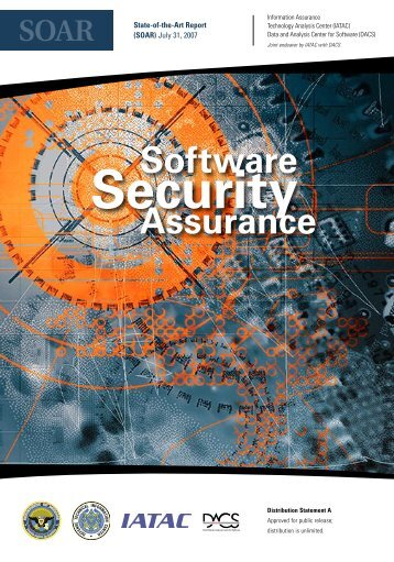 Software Assurance - IAC - Defense Technical Information Center