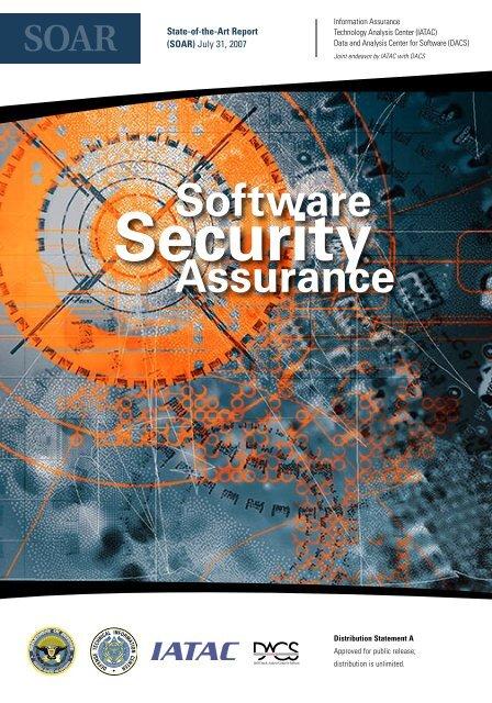 Software Assurance - IAC - Defense Technical Information Center