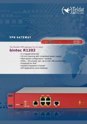 bintec r1202 data sheet