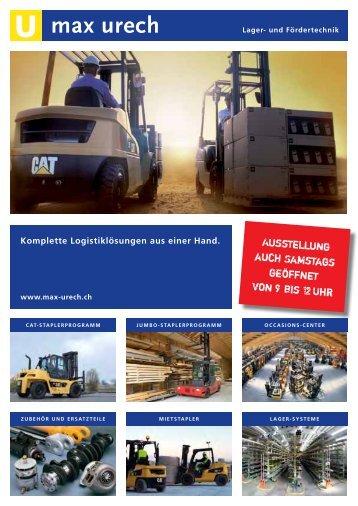 Produktekatalog - Max Urech AG