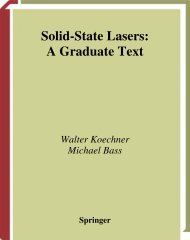 Solid-State Lasers - CREOL - University of Central Florida