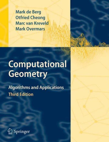 Computational Geometry - Algorithms and Applications, 3rd - LDC