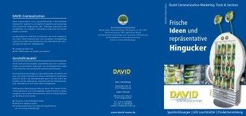 PDF downloaden - David Communication