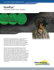 QuadEye™ Panoramic Night Vision Goggles - Elbit Systems of ...