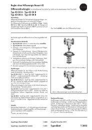 Typ 42-28 B Typenblatt T 3003 - Samson AG Mess- und Regeltechnik
