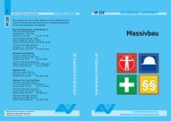 Merkblatt Massivbau M 220