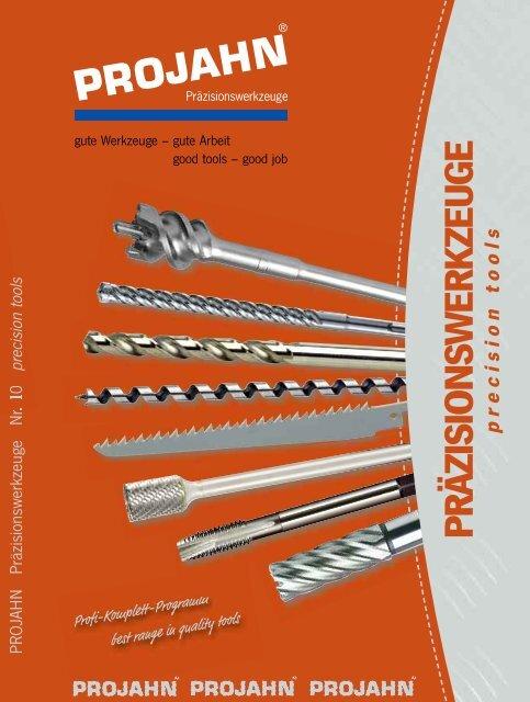 10 x Projahn Bohrer /Ø 5,0mm Holzbohrer L=86//52 Bohrer aus CV Stahl Schalungsbohrer