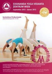 Programm Wien 2012 - Sivananda Yoga