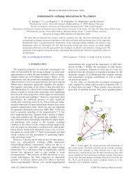 Antisymmetric exchange interactions in Ni4 clusters - APS Link ...