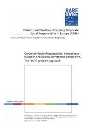 Corporate Social Responsibility: Integrating a ... - Der Runde Tisch