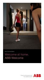 Welcome at home. ABB-Welcome - Busch-Jaeger Elektro GmbH