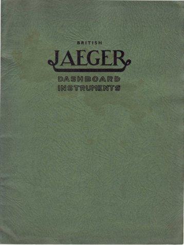 British Jaeger catalogue