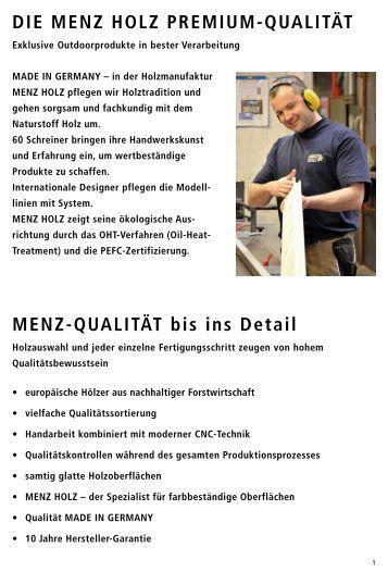 menz holz katalog ~ innovative idee von innenarchitektur und möbeln - Menz Holz Katalog