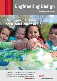 Engineering Design Magazine: Sept 2010 - Italian - DuPont