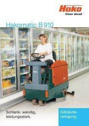 Hakomatic B 910 - Stangl Reinigungstechnik GmbH