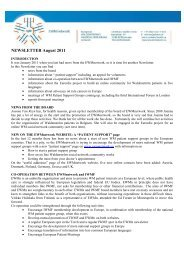 2011-10-21 Newsletter August 2011(correction Int ... - RareConnect